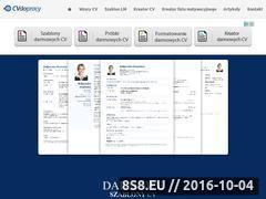 Miniaturka domeny cvdopracy.pl