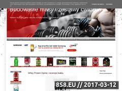 Miniaturka domeny cwiczenia-sportowe.blogspot.com