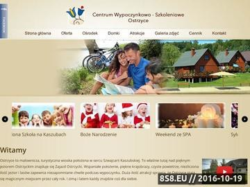 Zrzut strony Centrum Wypoczynkowe - Ostrzyce