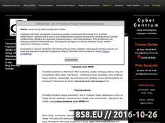 Miniaturka domeny www.cybercentrum.pl