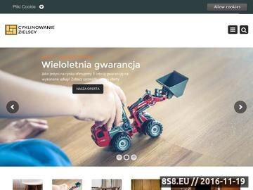 Zrzut strony Cyklinowanie-Bezpylowe-Warszawa.pl