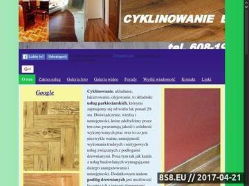 Zrzut strony Cyklinowanie Bydgoszcz - Andrzej Paszkowski
