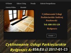 Miniaturka domeny cyklinowanie-bydgoszcz.net.pl