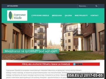 Zrzut strony Cyprysowe Osiedle - nieruchomości Katowice