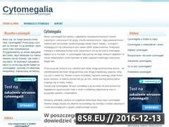 Miniaturka domeny cytomegalia.org.pl