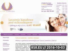 Miniaturka domeny www.cytrus-lawenda.pl