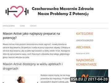 Zrzut strony Czachorowska Masarnia - zakłady mięsne