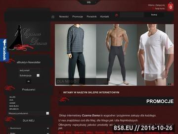 Zrzut strony Sklep internetowy Czarna Dama