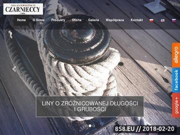 Zrzut strony CZARNIECCY lina polipropylenowa