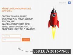 Miniaturka domeny www.czaromarownik.pl