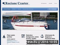 Miniaturka domeny czarter-ruciane.mazury.pl