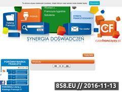 Miniaturka domeny www.czasfranczyzy.pl