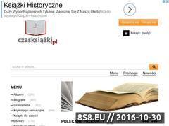 Miniaturka domeny czasksiazki.pl