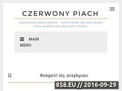 Miniaturka domeny czerwony-piach.blogspot.com