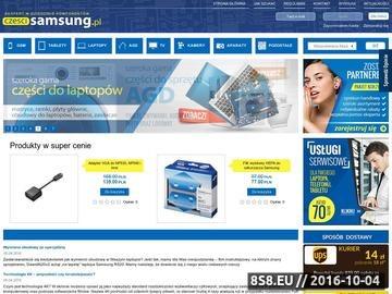 Zrzut strony Baterie do telefonów Samsung - czescisamsung.pl