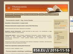 Miniaturka domeny www.czeski-tlumaczenia.pl