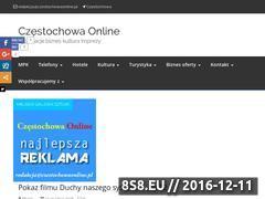 Miniaturka domeny www.czestochowaonline.pl