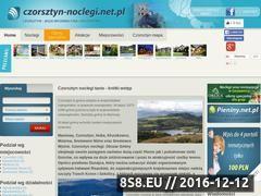 Miniaturka domeny www.czorsztyn-noclegi.net.pl