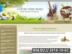 Miniaturka domeny czteryporyroku.sklep.pl