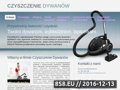 Miniaturka domeny www.czyszczeniedywanow.eu