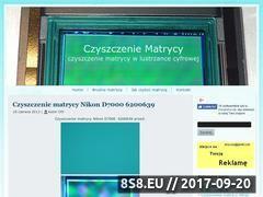 Miniaturka domeny czyszczeniematrycy.info.pl