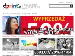 Miniaturka domeny www.d-print.pl