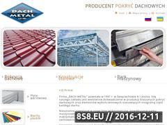 Miniaturka Pokrycia dachowe Dach-Metal (www.dach-metal.com.pl)