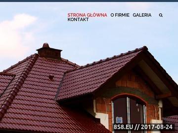 Zrzut strony Dach-Mir - dachówka