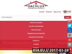 Miniaturka domeny www.dachlux.pl