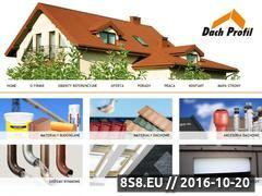 Miniaturka domeny www.dachprofil.com.pl