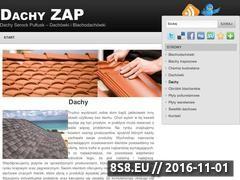 Miniaturka domeny www.dachy-zapolski.pl
