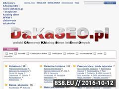 Miniaturka domeny dakaseo.pl