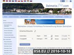 Miniaturka domeny www.dalmatia24.com