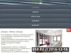 Miniaturka domeny dampex.pl