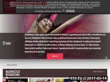 Zrzut strony Kursy tańca Gdynia