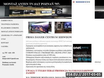 Zrzut strony Montaż anten Poznań