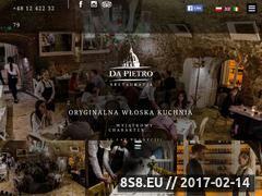 Miniaturka domeny www.dapietro.pl