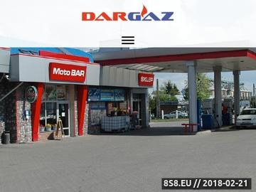 Zrzut strony DARGAZ stacja kontroli pojazdów
