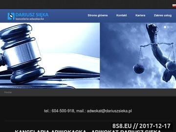 Zrzut strony Kancelaria Adwokacka Kraków - Adwokat Kraków