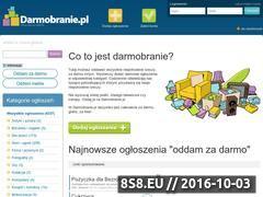Miniaturka domeny www.darmobranie.pl