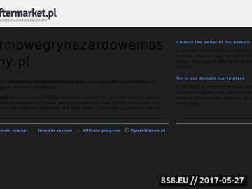 Zrzut strony DarmoweGryHazardoweMaszyny.pl