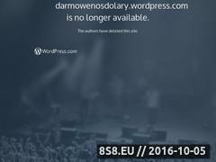 Miniaturka domeny darmowenosdolary.wordpress.com