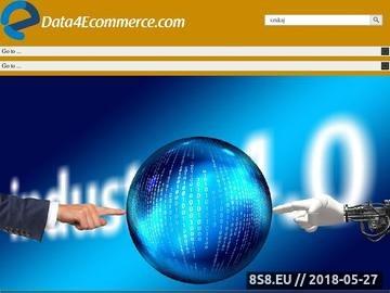 Zrzut strony Blog o e-commerce - Data4Ecommerce