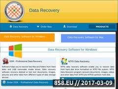 Thumbnail of Disk recovery Website