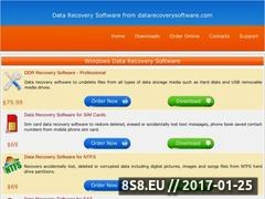 Thumbnail of Download free recovery software Website