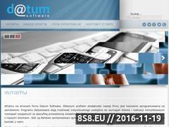 Miniaturka domeny www.datum.com.pl