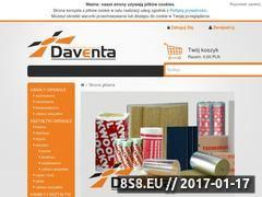 Miniaturka domeny www.daventa.pl