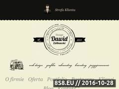 Miniaturka domeny www.dawidziolkowski.com