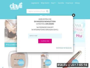 Zrzut strony Sklep internetowy daily.com.pl