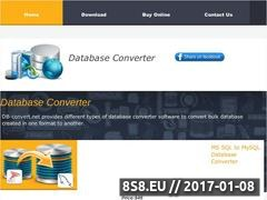 Thumbnail of Access database converter Website